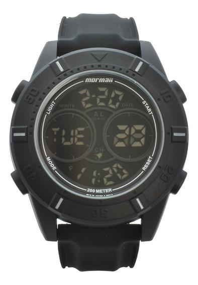 Relógio Pulso Mormaii Masculino Troca Pulseiras Mo1608ab/t8c