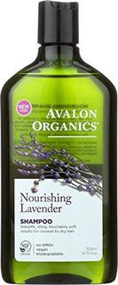 Avalon Organics Shampoo, Lavanda Nutritiva, 11 Onzas Líquid