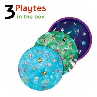 Playte - Game Plate Para Niños: Inculca Hábitos De Alimentac