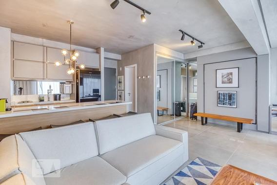 Apartamento No 13º Andar Mobiliado Com 1 Dormitório E 1 Garagem - Id: 892960974 - 260974