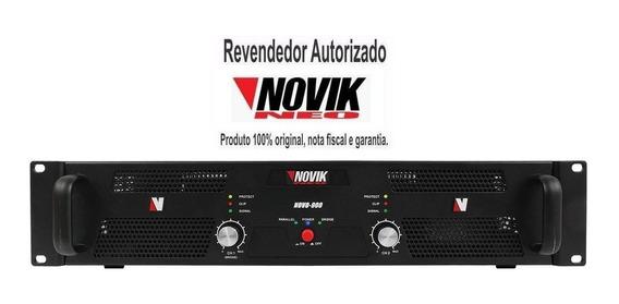 Amplificador Potência 1500w Rms Novik Neo Novo 1500 + Nf