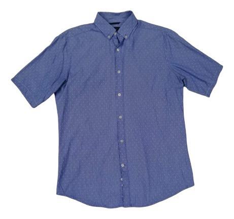 Camisa Sfera Hombre Corta Talla S Original No Massimo Dutti