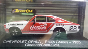 Miniatura Opala Stock Car Coca Paulo Gomes Gledson 1980 1/43