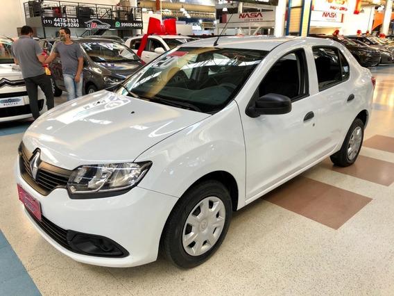 Renault* Logan* Authentique* 1.0 12v Completo Ano 2020
