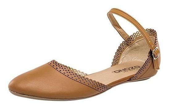 Zapato Casual Dama Capa De Ozono 180491-8 23-26 Camel T4