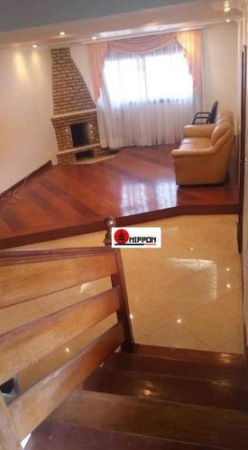 Sobrado Com 3 Dormitórios À Venda Por R$ 490.000,00 - Recreio São Jorge - Guarulhos/sp - So0308