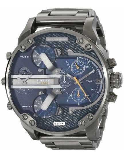 Relógio Diesel Dz7331 Mr. Daddy 2.0 Gun Metal Mm 57