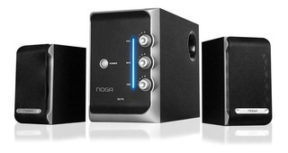 Home Theater 2.1 S2176 50 Watts Noganet Madera Pc Tv Cuotas
