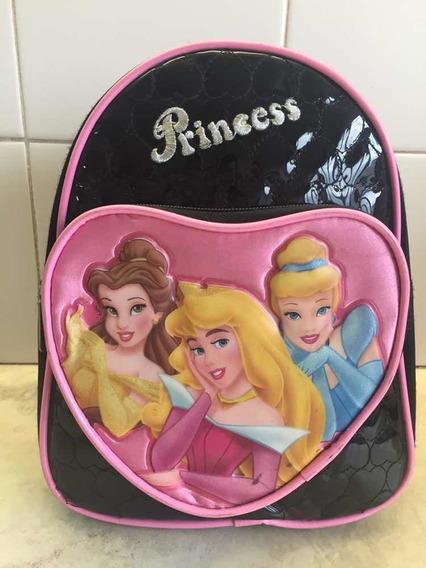 Mochila De Disney Princesas Usada