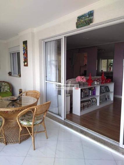 Lauzane Paulista Zn/sp - Apartamento Com 3 Dormitórios 121m², 2 Vagas - R$ 1.050.000,00 - Ap7337