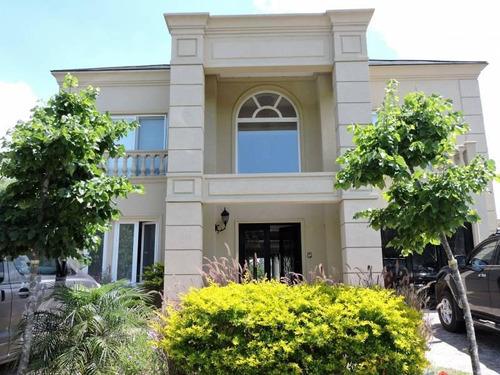 Junio/19 C/renta Casa Al Lago En Las Glorietas 5 Dormitorios   Dep C/ Renta