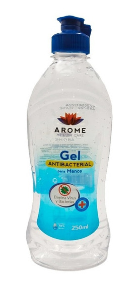 Gel Antibacterial Manos Desinfectante 250 Ml 70 % Alcohol