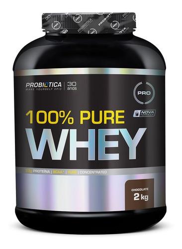 100% Pure Whey Protein 2kg - Probiótica -  Ainda Mais Sabor