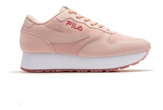 Zapatillas Mujer Fila Plataforma Moda Urbana Deportiva