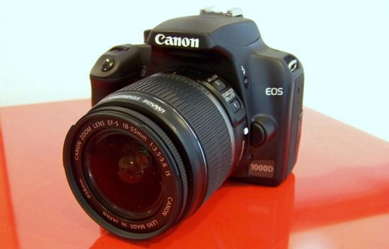 Máquina Fotográfica Canon Eos 1000d