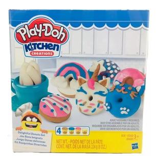 Play Doh Kitchen Creations Donas Deliciosas Hasbro Destreza