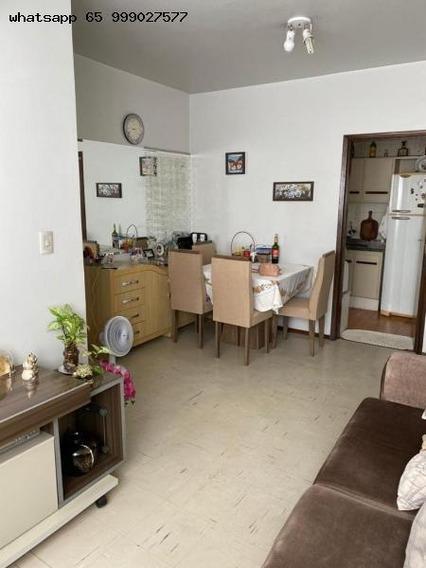 Apartamento/usado Para Venda Em Cuiabá, Bosque Da Saúde, 3 Dormitórios, 1 Suíte, 2 Banheiros, 1 Vaga - 371_1-1343938
