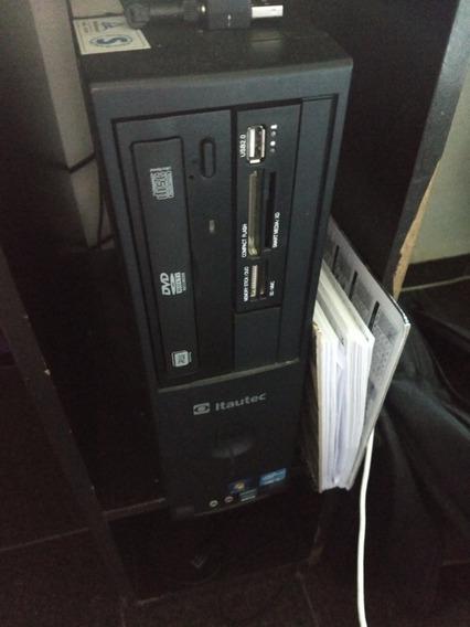 Cpu Itautec I5 8gb De Ram E Hd De 500gb
