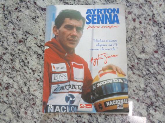 Ayrton Senna Para Sempre Coleção Video Print - Quatro Rodas