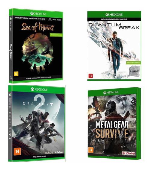 Kit Premiun 4 Jogos Xbox One Lacrados E Originais