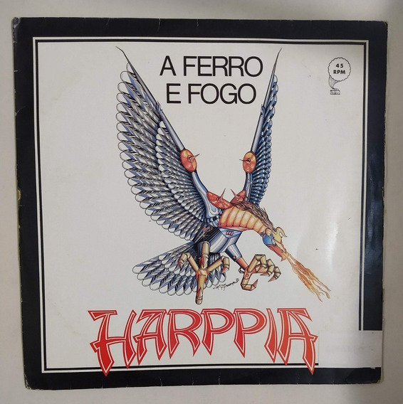 Harppia A Ferro E Fogo Lp Vinil