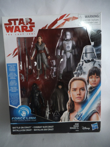 Imagen 1 de 2 de Rey , Rose , Walker Driver Y Gunner Star Wars Last Jedi