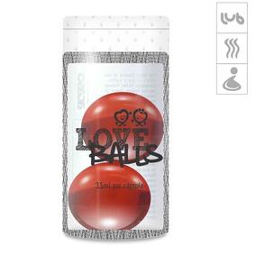 Bolinha Aromatizada Love Balls 2un - Vermelho