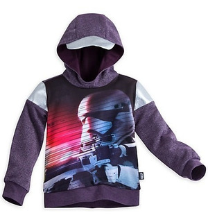 Buzo Con Capucha Star Wars Stormtrooper Talla 9/10 Disney