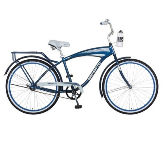 Bicicleta Benotto Ocean Dr Acero R26 1v Hombre Azul