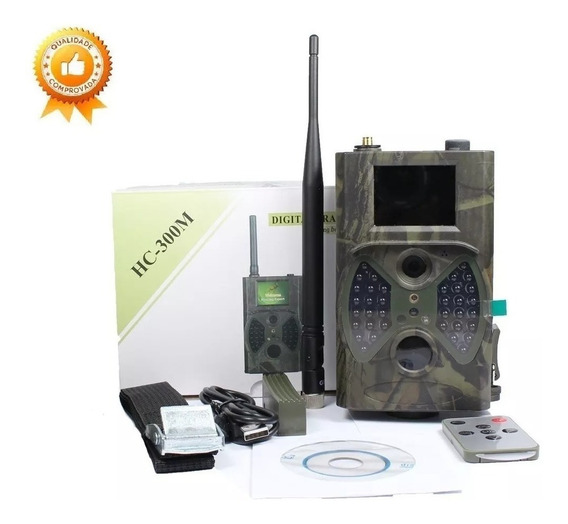 Câmera De Trilha Caça Hc-300m Noturna Ceva 12 Mp Full Hd