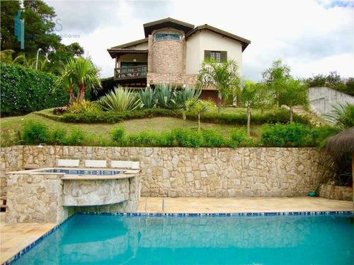 Chácara Com 5 Dormitórios À Venda, 3000 M² Por R$ 2.990.000,00 - Monterrey - Louveira/sp - Ch0028