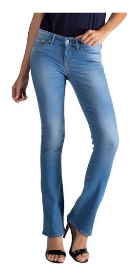 Calça Jeans Levis 715 Bootcut Fem Azul Média