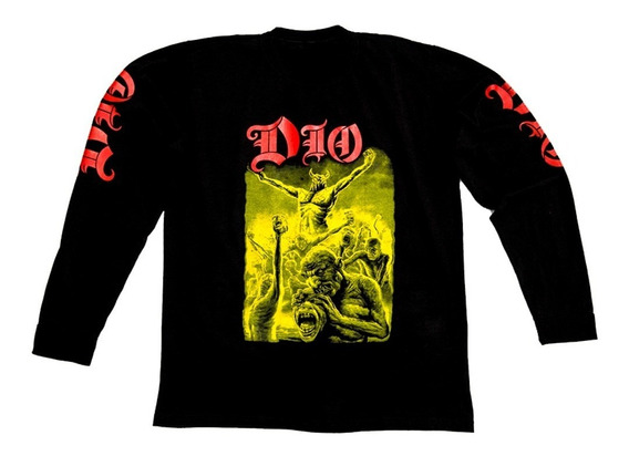 Remera Mangas Largas Dio - Ronnie James - Envios