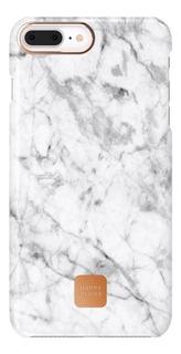 Funda De iPhone 7 Y 8 Happy Plugs Marmol Blanco