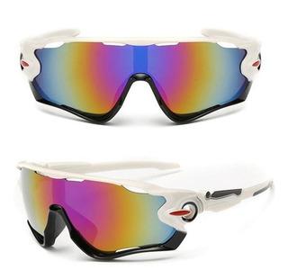 Óculos Esportivo Bike Corrida Casual Uv400 Ciclismo + Cores