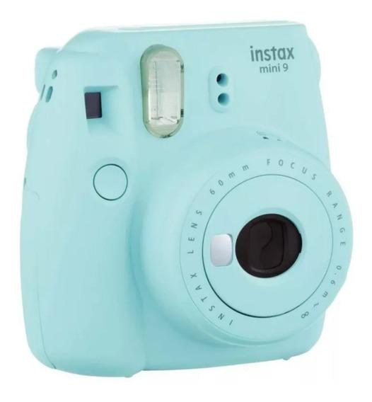 Câmera Instantânea Fujifilm Instax Mini Azul Água