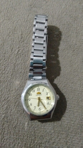 Relógio Feminino Orient Cristal Automátic Fundo Branco