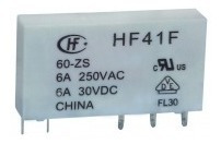 Rele De Interface Slim Miniatura Hf41f 24-zs 5 Pçs