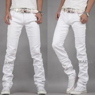Pantalón Jean Kevingston Hombre Talle 48 Blanco Modelo 2019