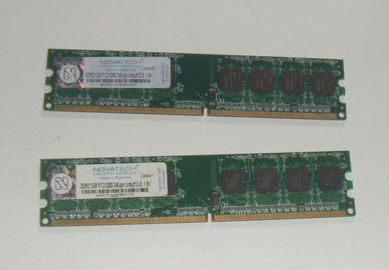 Memoria Ram Novatech 1gb Ddr2 5300 Para Pc