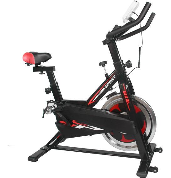 Bicicleta Fija Spinning Centurfit 7kg Fitness Cardio Gym