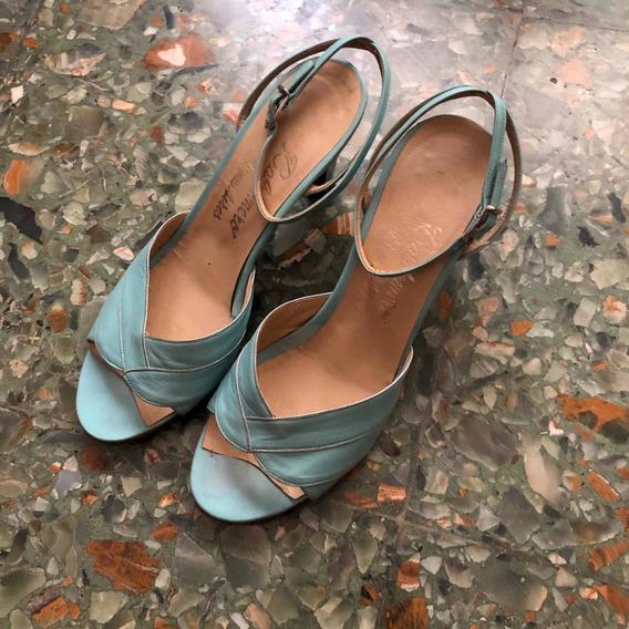 Zapatos Retro Vintage Mujer