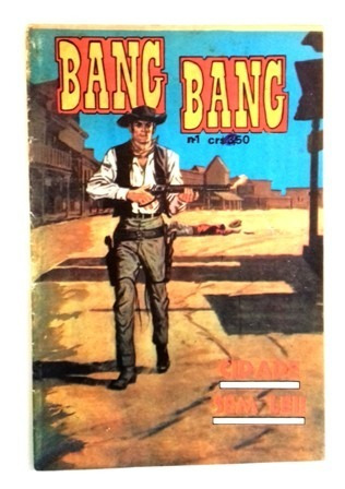 Bang Bang Nº 1 -editora Gorrion-1973 -kid Colt/buck Jones