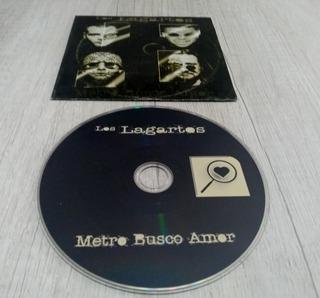 Los Lagartos - Metro Busco Amor - Cd Single Promo