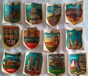 20 Adesivos Colecionáveis Antigos