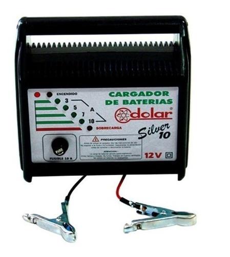 Cargador Batería Silver 10 Dolar Arg. Autos - Motos Ahora 18