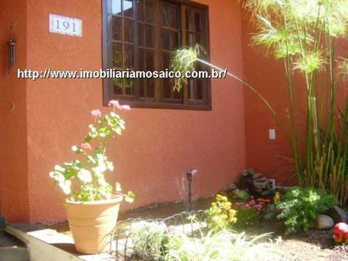 Imagem 1 de 1 de Sobrado Com 04 Dormitórios, Suite Com Closet, 02 Vagas De Garagem, Estuda Permuta Com Apartamento - 68188 - 4491234