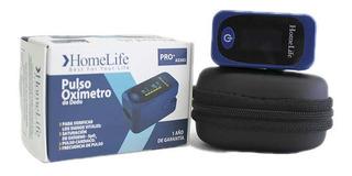 Pulsoximetro Adulto Pediatrico Homelife Azul