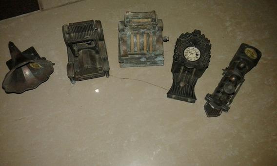 Cinco Sacapuntas En Miniatura De Colección