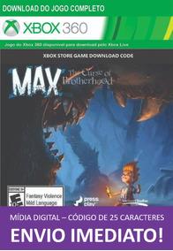 Xbox 360 Game Max Curse Of Brotherhood Digital 25 Dígitos